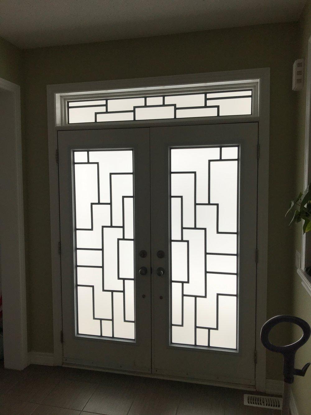 Malibu-Wrrought-Iron-Glass-Door-Inserts-Aurora-Ontario