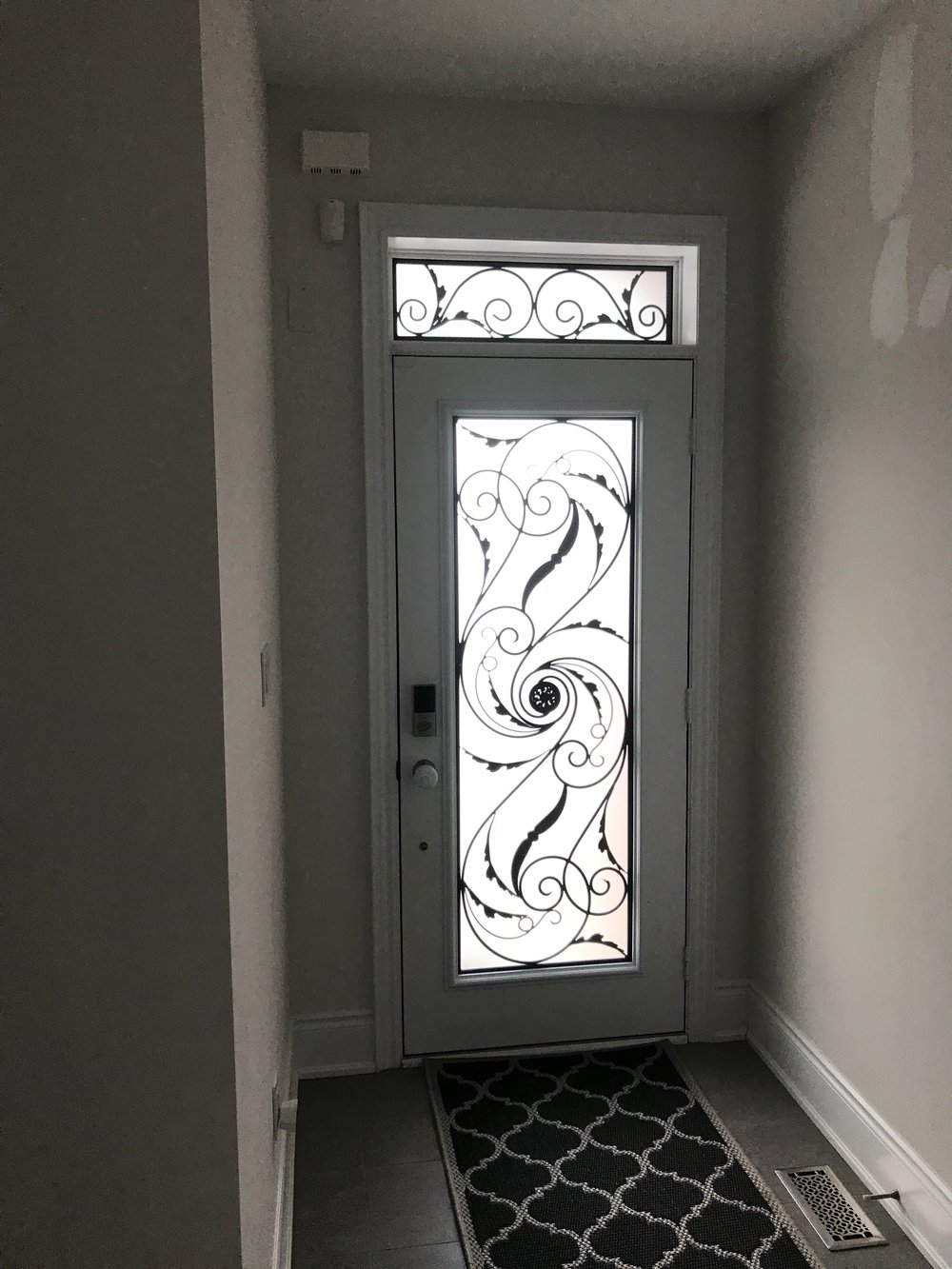 Port-Union-Wrought-Iron-Glass-Door-Inserts-King-City-Ontario
