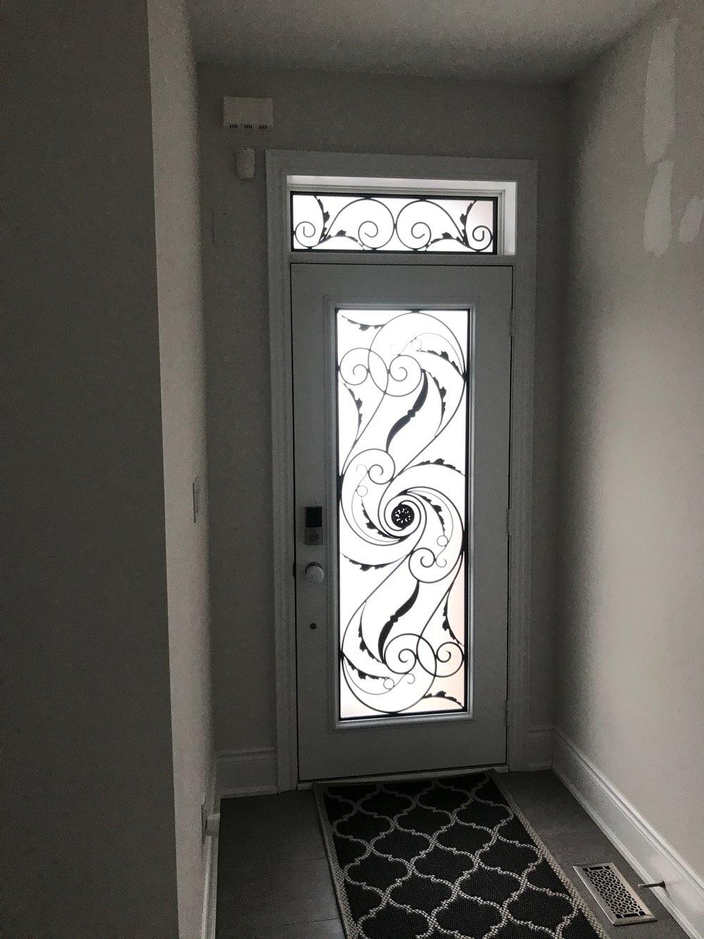 Port-Union-Wrought-Iron-Glass-Door-Inserts-King-City-Ontario