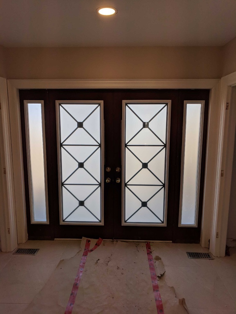 Wrought-iron-Glass-door-inserts-orillia-Ontario