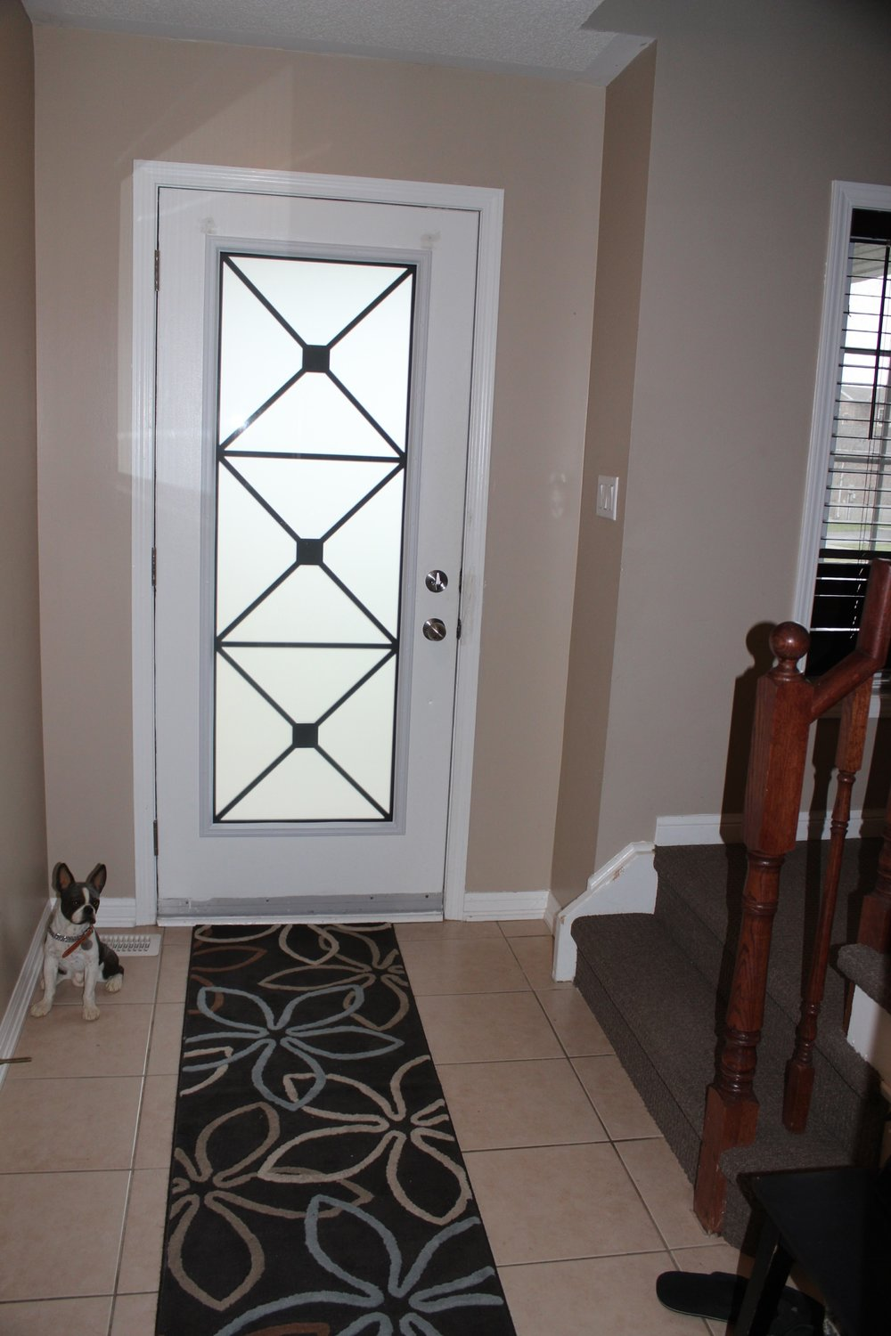 Wrought Iron Glass Door Inserts