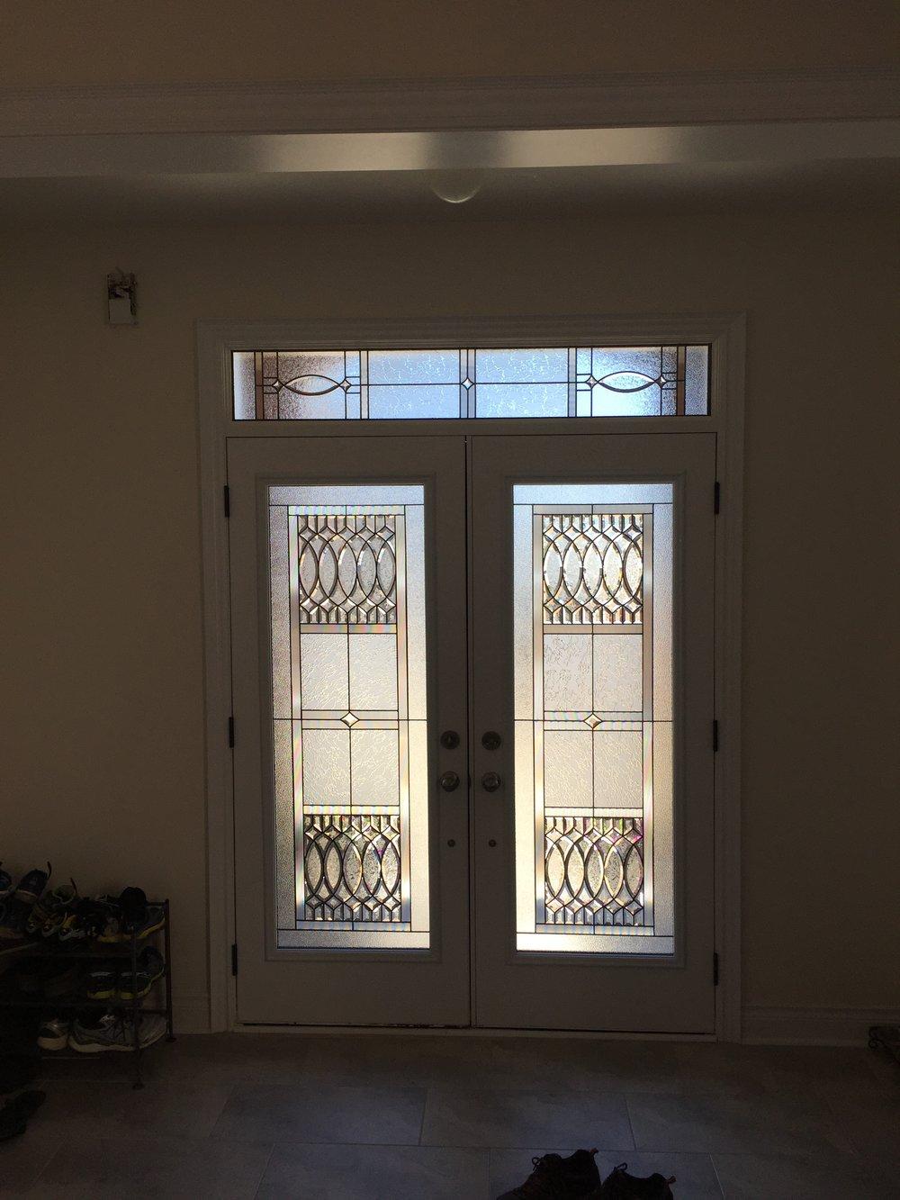 Rivermede-Decorative-Glass-Door-Inserts-Aurora-Ontario