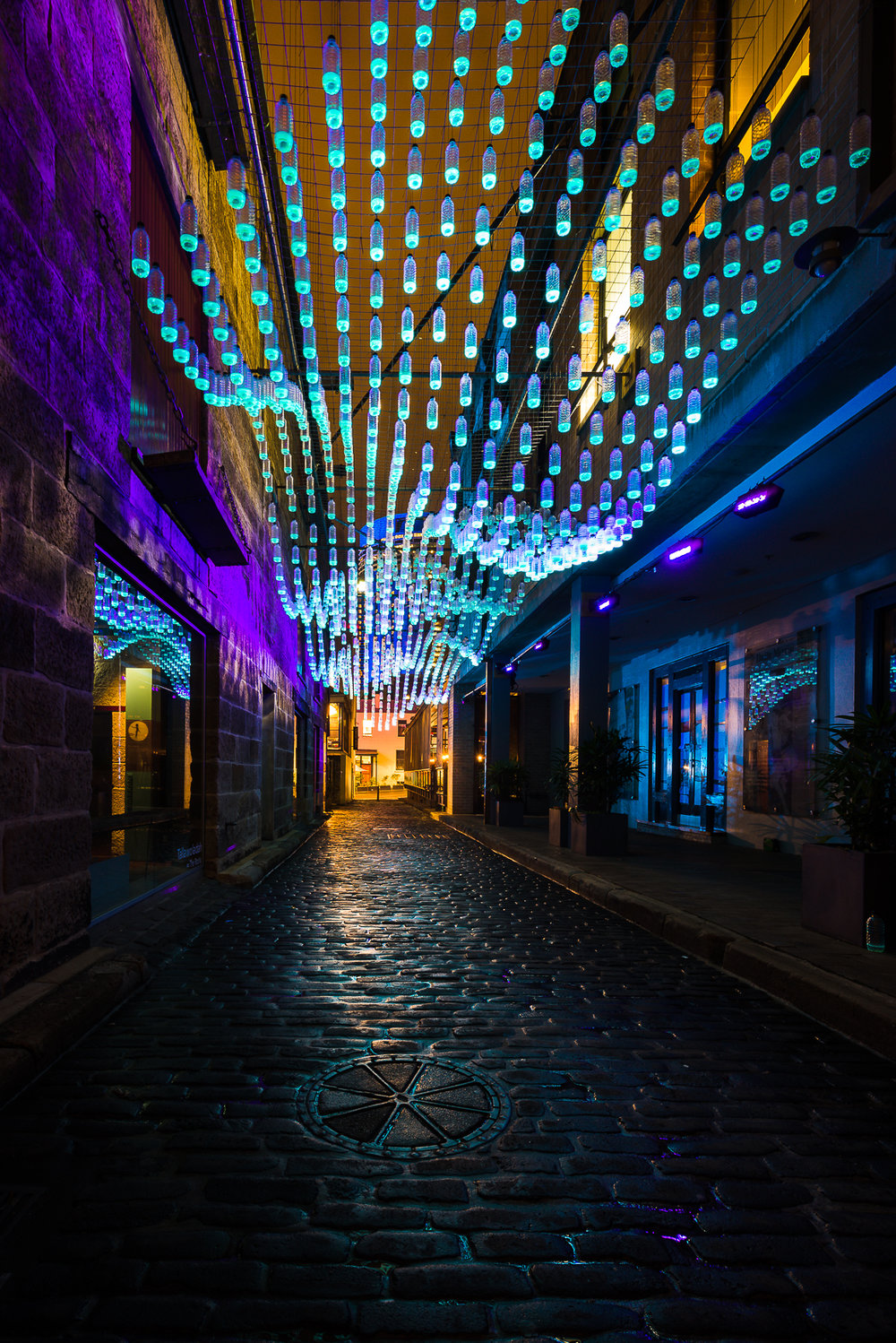 -The Rocks, Vivid Sydney-  Michelle Lake ©