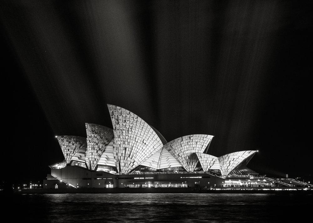 -The Sydney Opera House, Vivid Sydney-  Michelle Lake ©