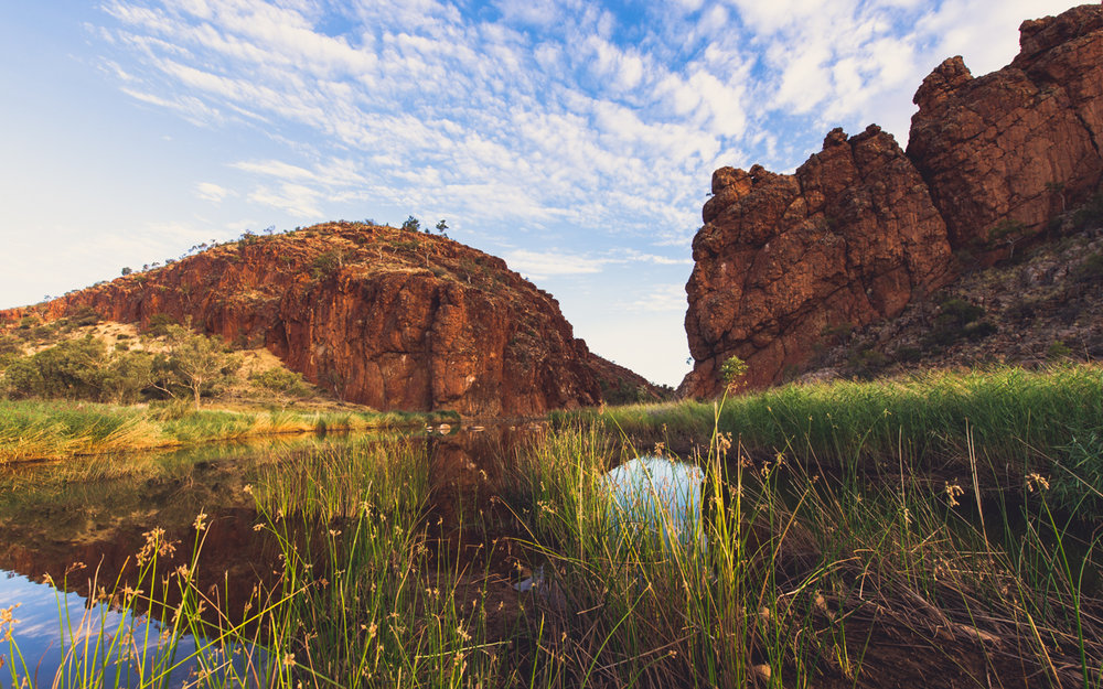 -Glen Helen Gorge,  West Macdonnell Ranges NT-  Michelle Lake ©