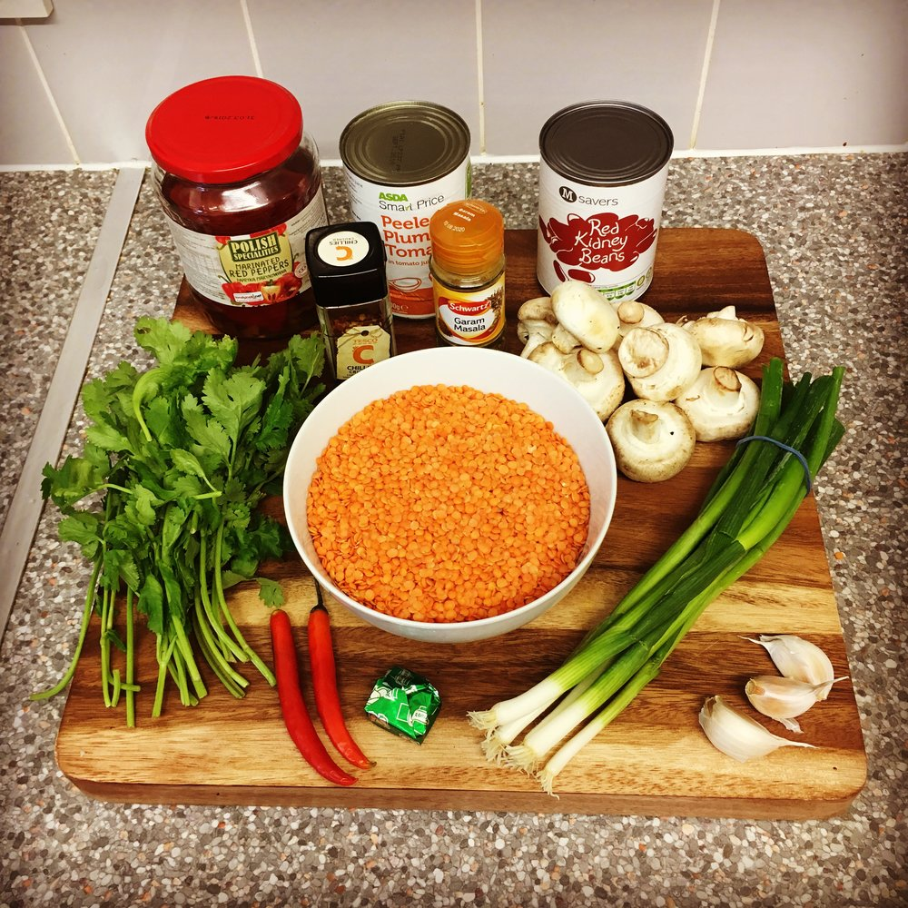 A cheap and healthy batch of ingredients!