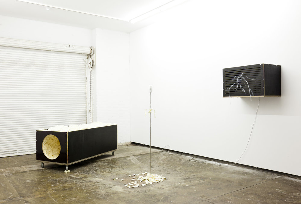 The Foundation Centre , 2012, installation view,  Alternate Universal Studios , Firstdraft, Sydney. Photography: Silversalt Photography. Copyright JD Reforma