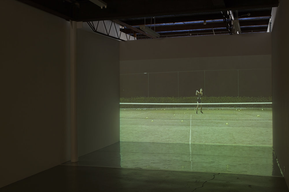Love , 2014, single-channel HD video, sound, installation view,  Love , 2014, Airspace Projects, Sydney. Videography: Hugh Marchant. Photography: Zan Wimberley. Copyright JD Reforma
