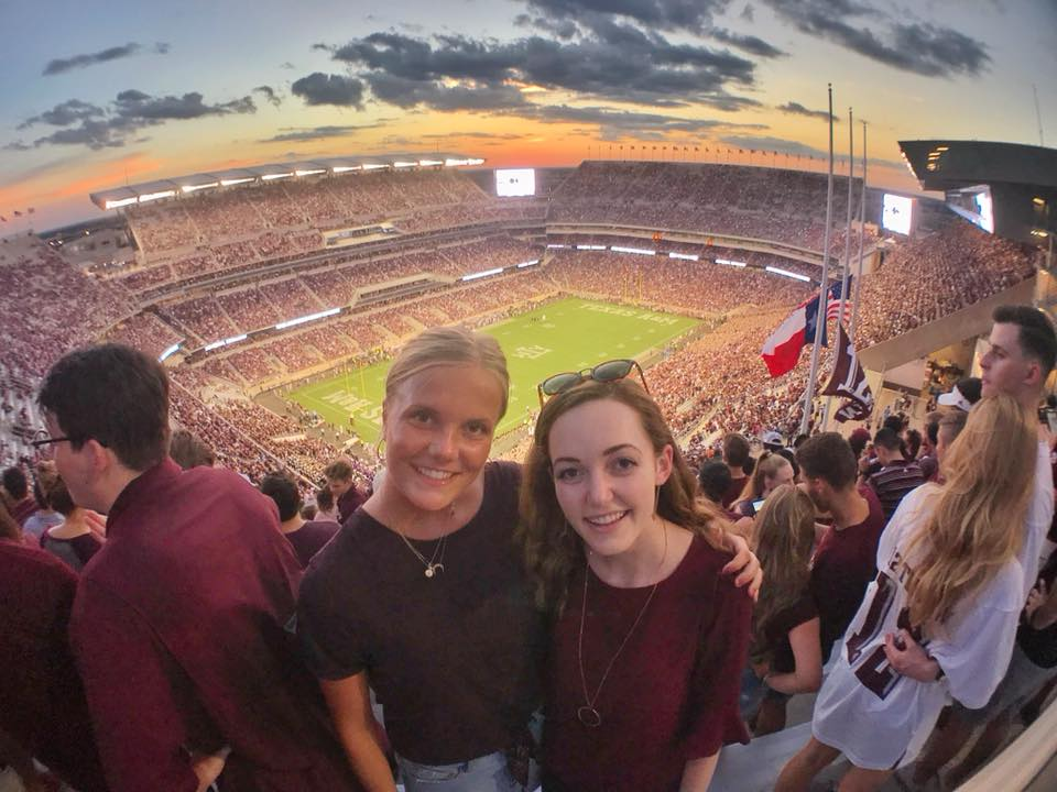 Aggie Football with IBA