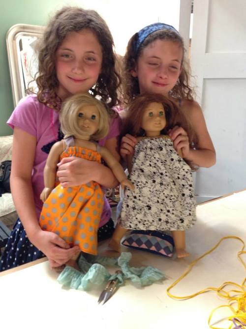 Dresses for American Girl dolls