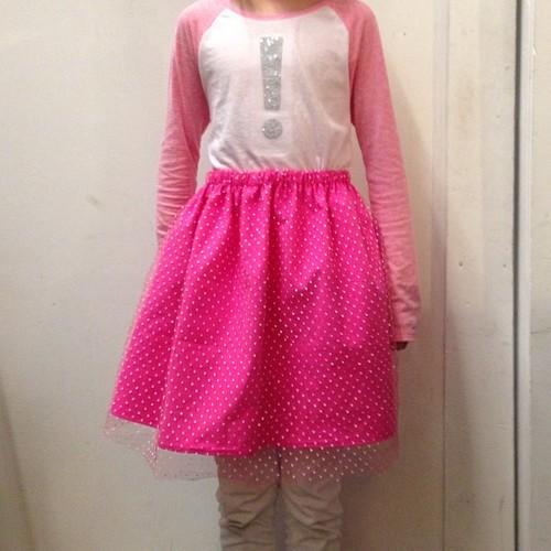 Pink princess skirt