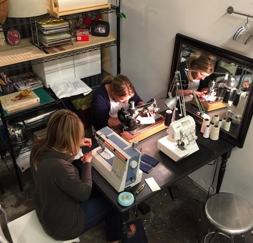 Ladies sewing night