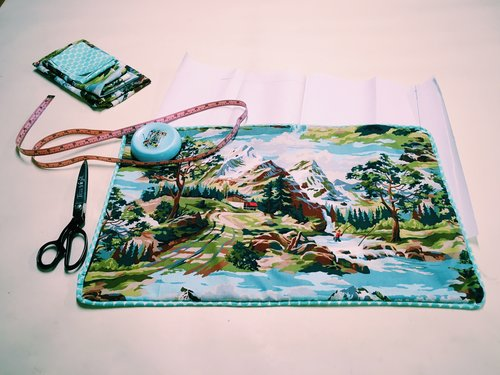 Mountain Scene Pillowcase