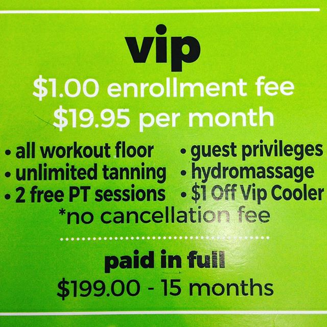 DON'T MISS THIS AWESOME DEAL! This weekend only, we are doing a 2 for 1 on our VIP Paid In Full membership! You get two years to your self or you can keep 1 year and give 1 year to a friend with access to ALL AMENITIES!! Only 💲199❗❗❗🏋🏻