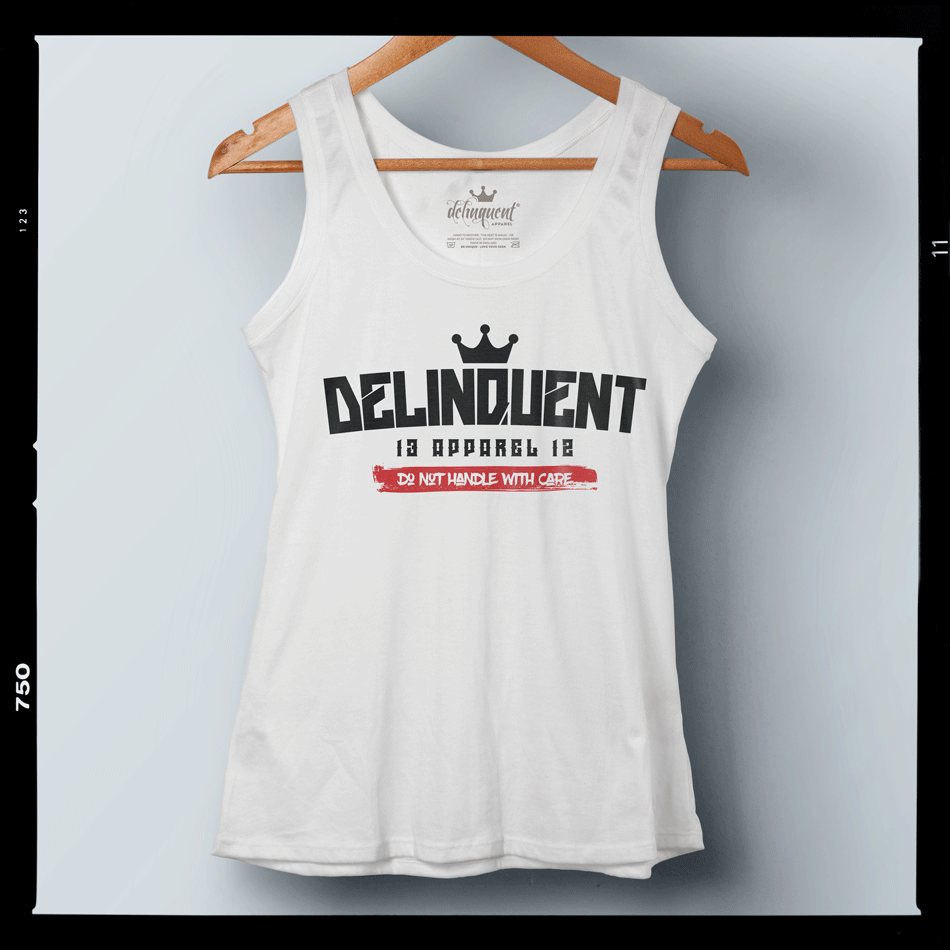 DO NOT HANDLE WITH CARE - You may think I'm delicate... but think again... Women's vest tops available now. BE FIERCE