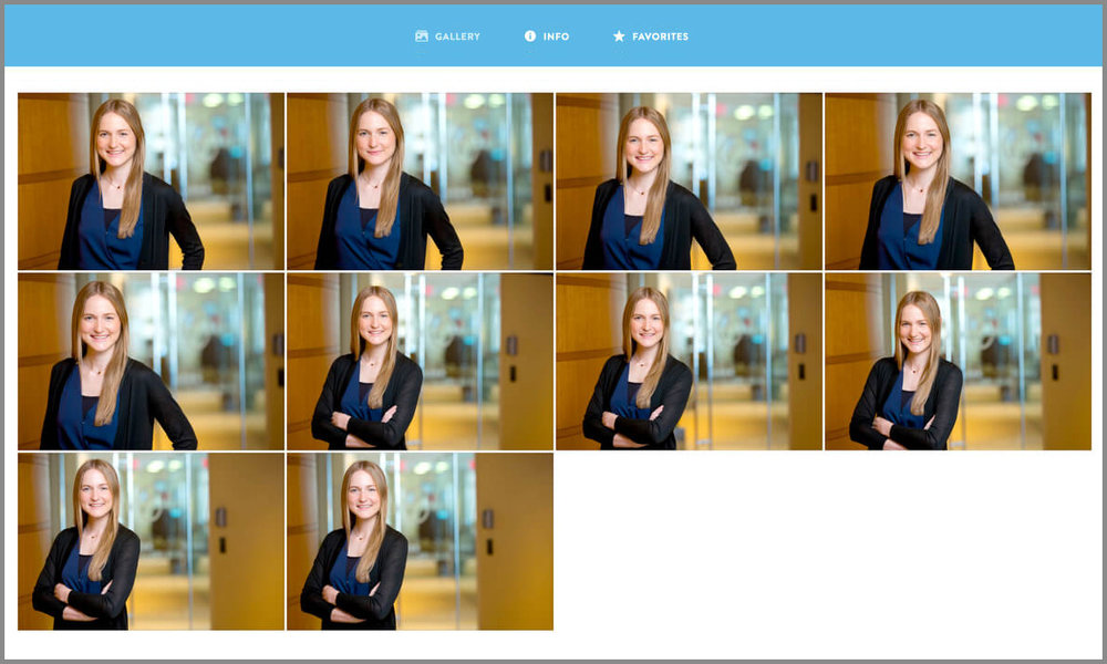 Headshot-Proofing-Gallery
