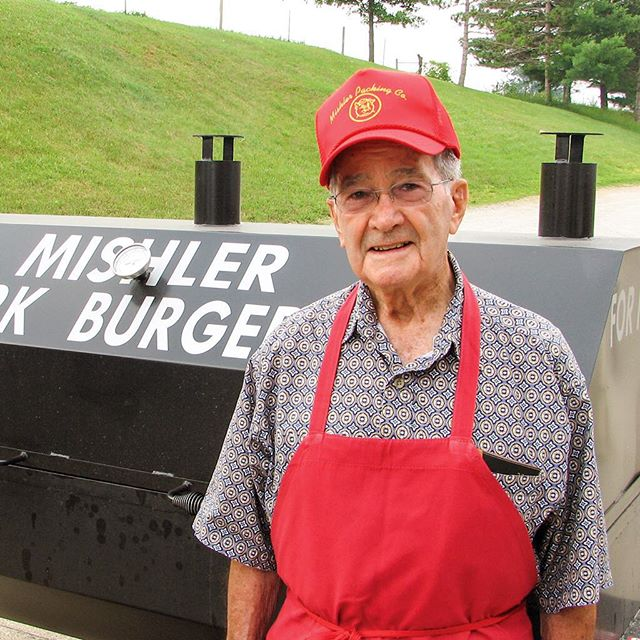 Paul Mishler, the driving force behind the Mishler Pork Burger Pattie. #mishlersmeats