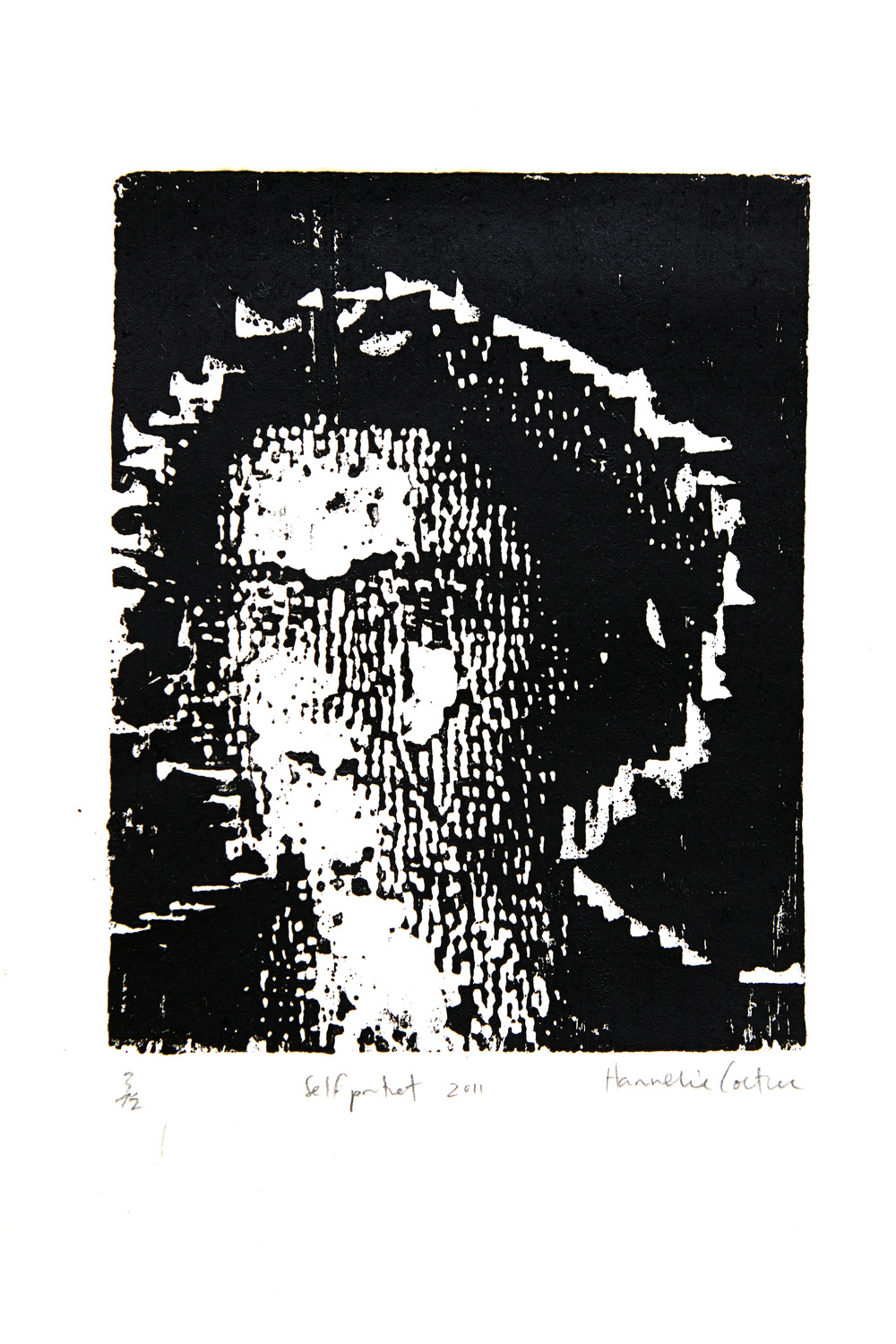 Selfportrait_ wood cut print. 280mmX300mm 2013.jpeg
