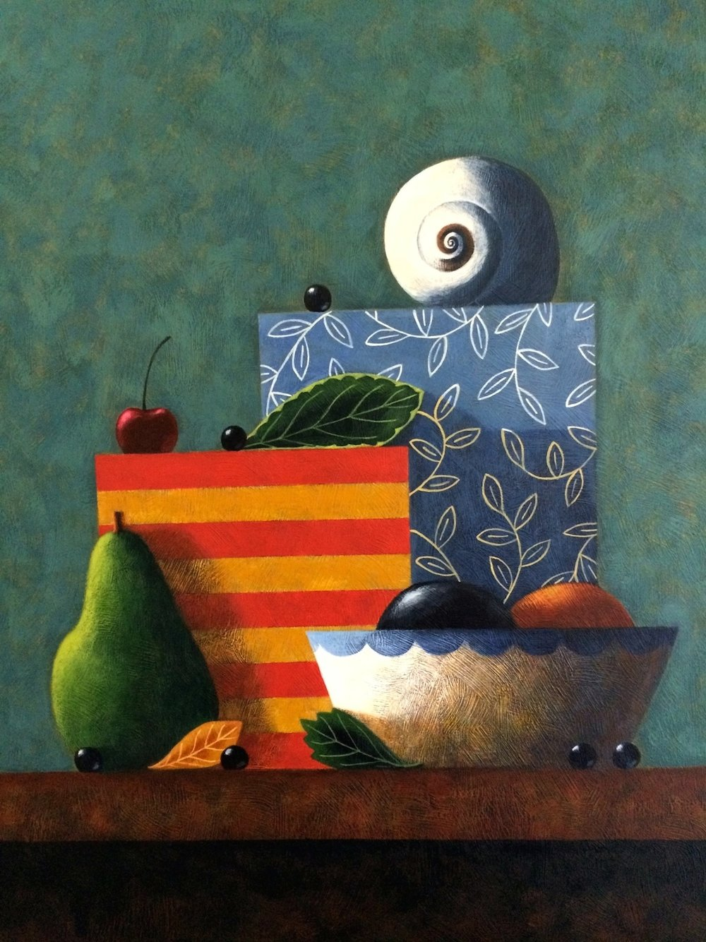 Still Life With Boxes