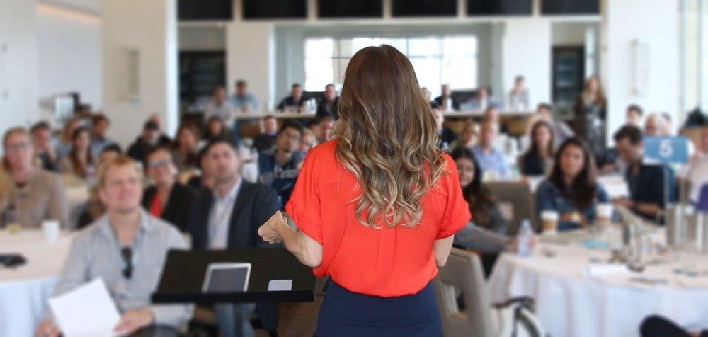 Speaker. Trainer. Empowerer.   Talent Development for Creatively-Minded Companies