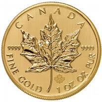 Canadian Gold Mple Leaf