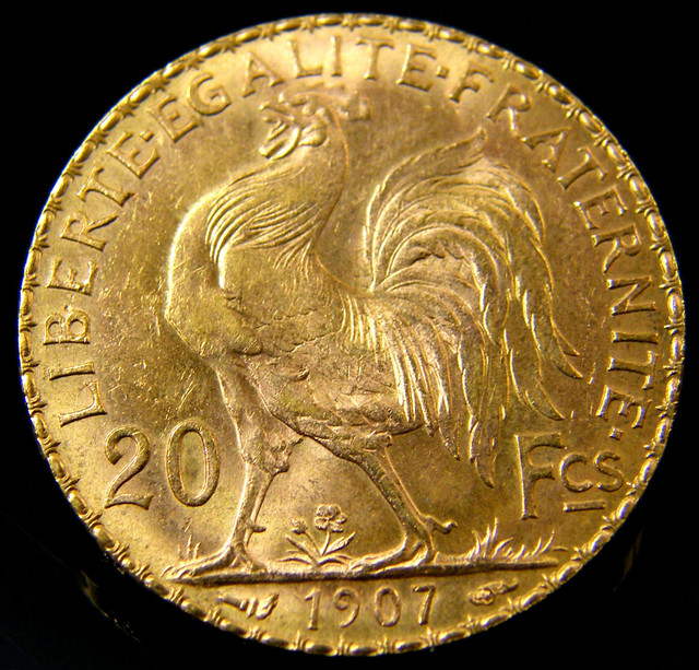 French Gold Franc (Rooster Type)