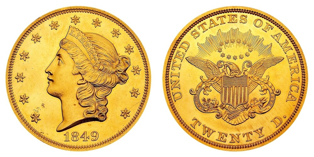 Copy of $20 Gold Double-Eagle, Liberty Type