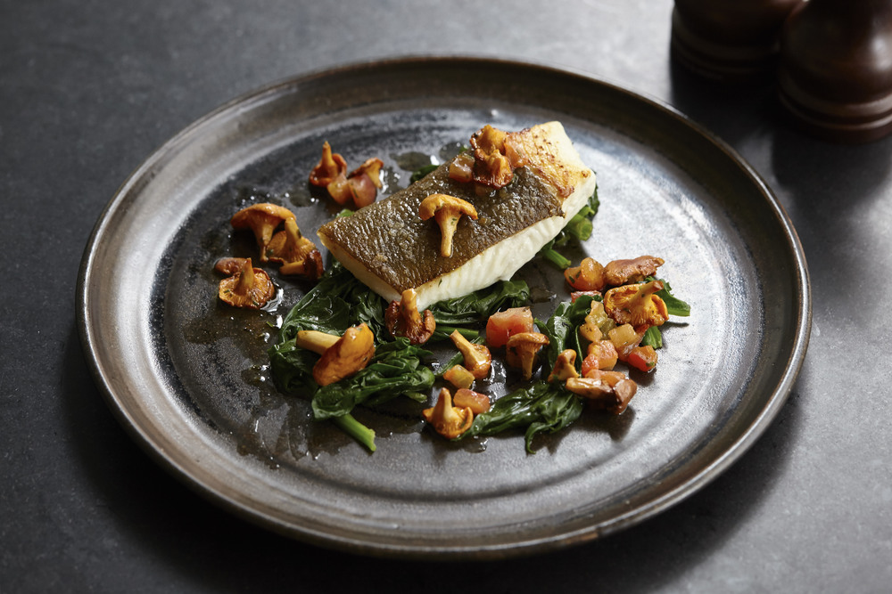 Fish dish at the Henry Root, Chelsea