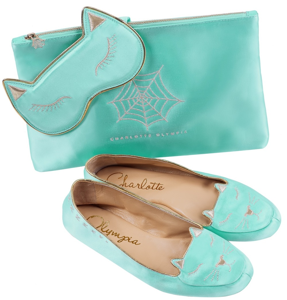 Charlotte Olympia Cat Nap set blue £450, Harrods.com.jpg