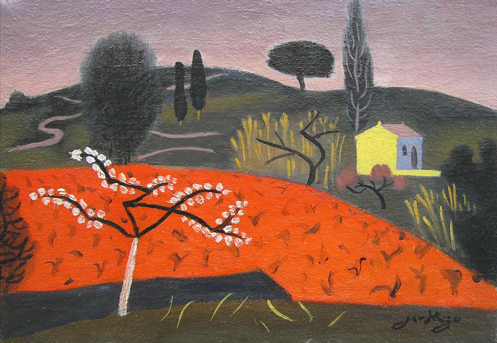 Jean Hugo – L'arbre en Fleurs
