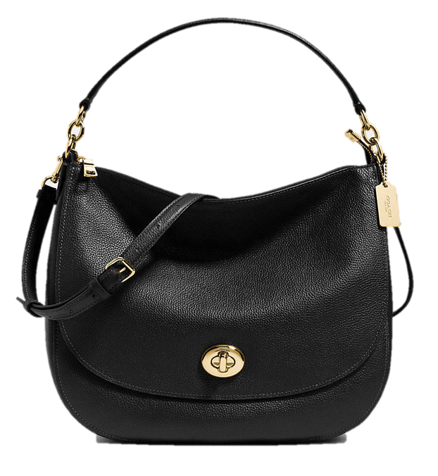 Turnlock hobo bag by Coach