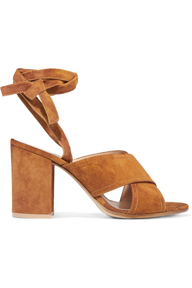 Gianvito Rossi suede sandals- £495 from Net a Porter.jpg