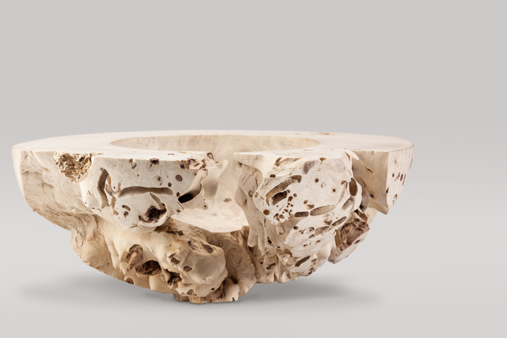 Elenor Lakelin -Wooden Bowl - Hero piece at Walpole Crafted Exhibition at Fornum & Mason 2016.jpg