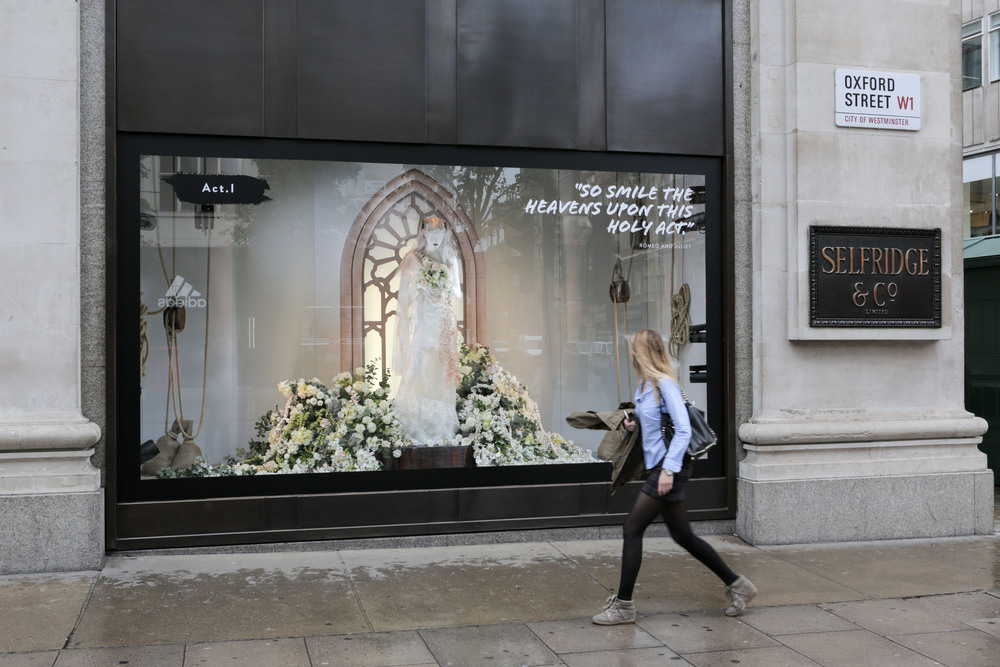 Selfridges launches Shakespeare reFASHIONed Romeo & Juliet window by Rod...[1].jpg