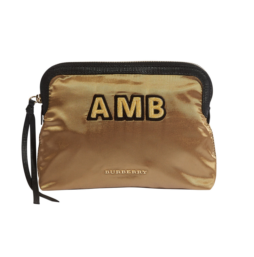 Nylon pouch – £140 from Burberry
