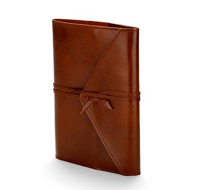 Leather notebook – £45 from Aspinal