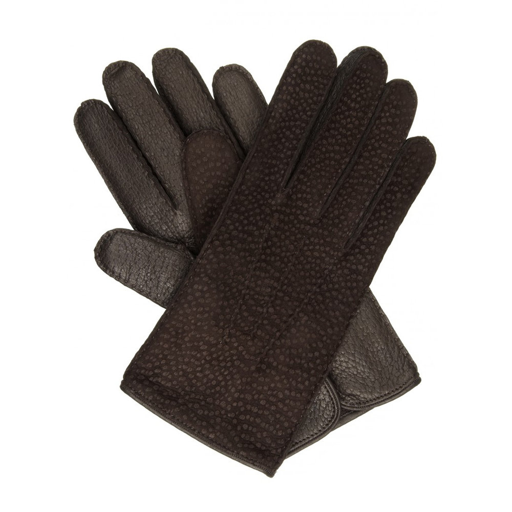 Leather gloves – £185 from William & Son