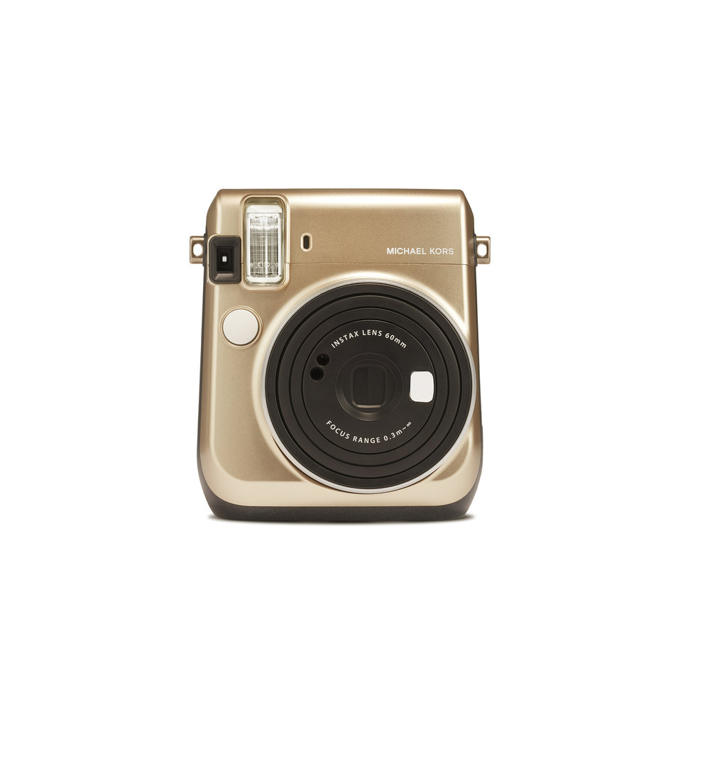 MICHAEL KORS x FUJIFILM INSTAX MINI 70 COLLABORATION CAMERA_FRONT £115 (130_EUROS).jpg