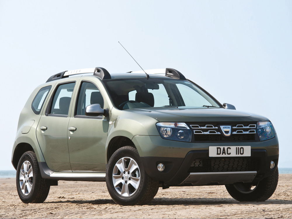 EU6 engines improve economy and emissions across Dacia Duster range