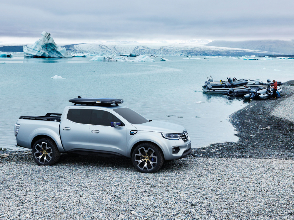 Renault ALASKAN pick-up concept
