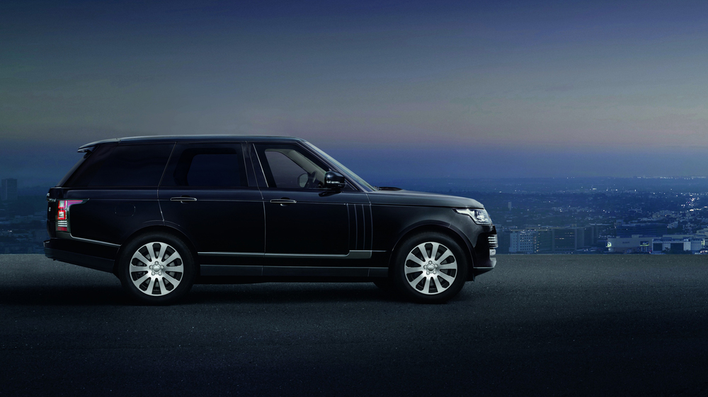 Land Rover reveals bulletproof Range Rover