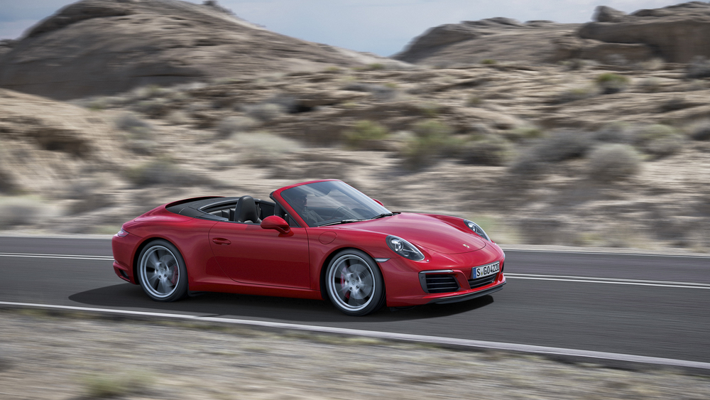 Porsche unveils facelifted 911