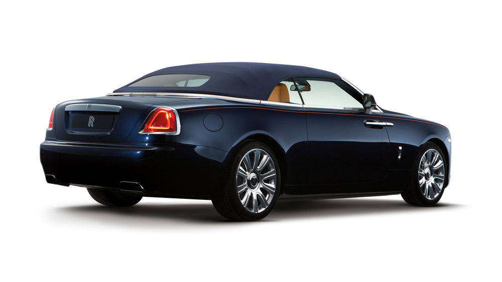 Rolls-Royce unveils new Dawn