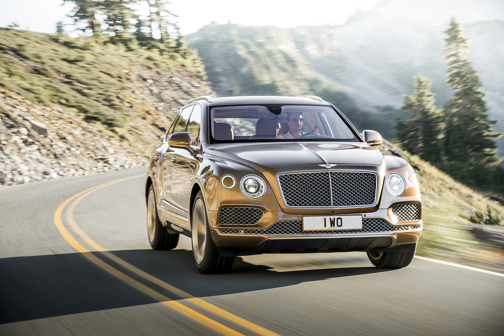 Bentley reveals Bentayga SUV