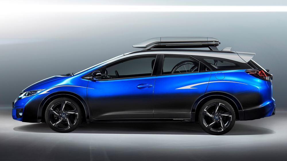 Honda unveils new Civic Tourer Active Life concept
