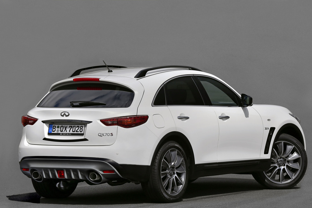 Infiniti reveals QX70 Ultimate