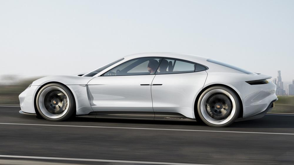 Porsche unveils new Mission E concept