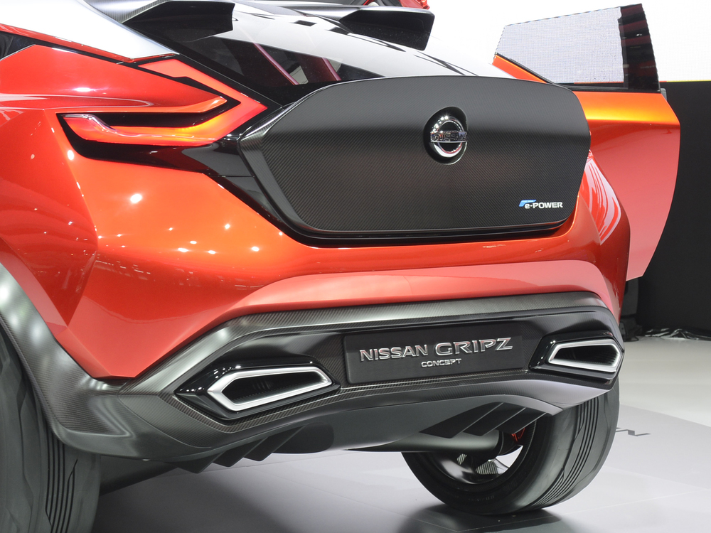 Nissan reveals new Gripz concept in Frankfurt