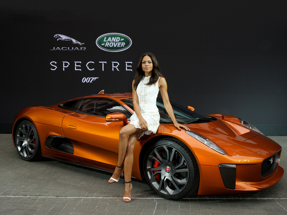 Jaguar Land Rover unveil new Bond cars in Frankfurt