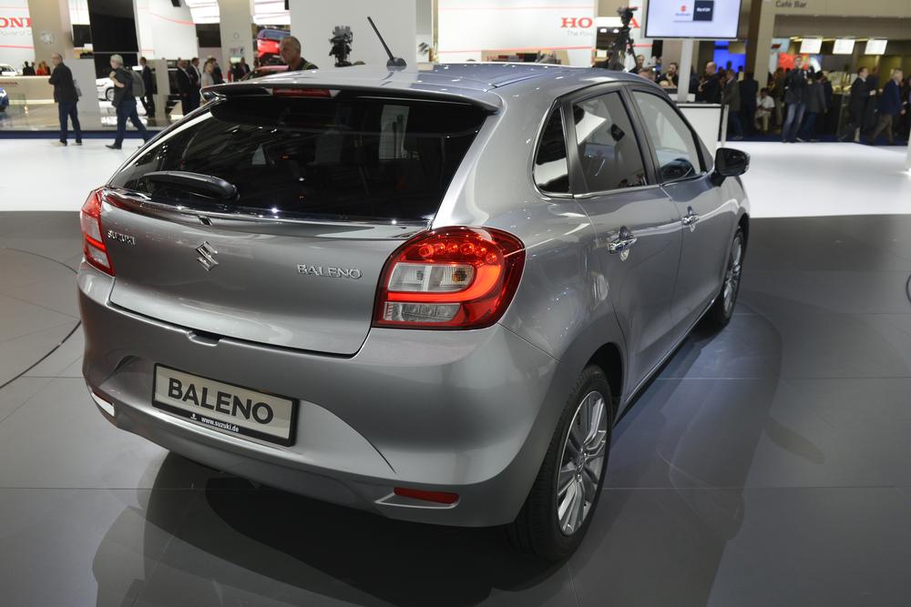 Suzuki unveils new Baleno